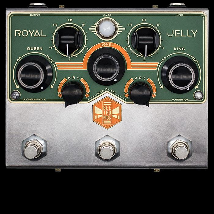 Beetronics Launches Royal Jelly Dual Channel Fuzz-Drive