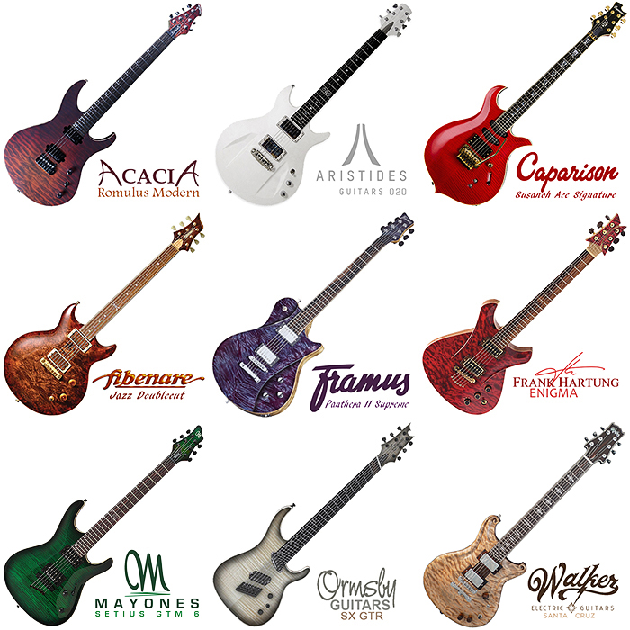 10 Less Well Known Guitar Makers for your consideration