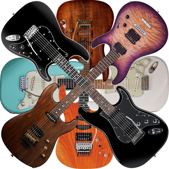 10 Doublecut S-Style Guitars for your Consideration