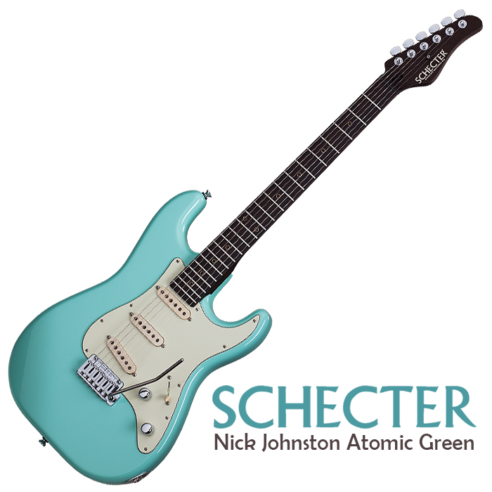 Schecter Nick Johnston Signature Traditional in Atomic Green