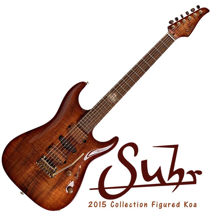 Suhr 2015 Collection Figured Koa Standard Carve Top #27146