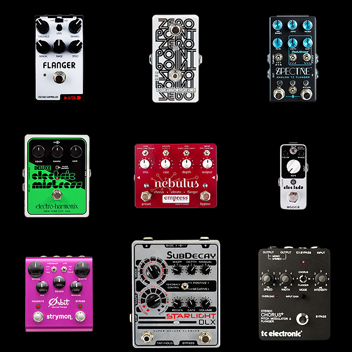 9 of the Best Flanger Pedals for Your Consideration