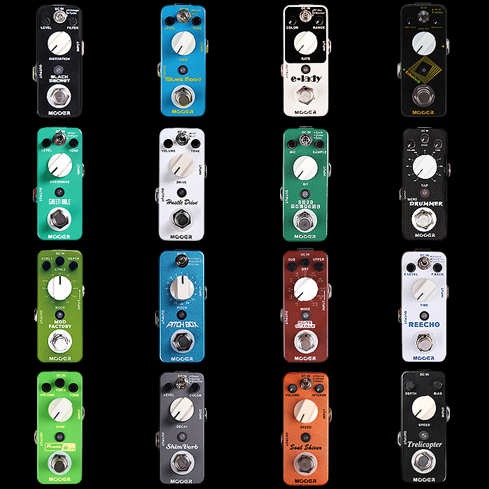 16 of the Best Mooer Micro pedals worth having