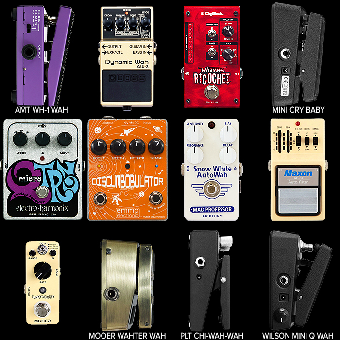 12 of the Best Wah Pedals for Your Consideration