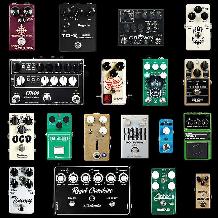 18 of the Best Overdrive Pedals for Your Consideration