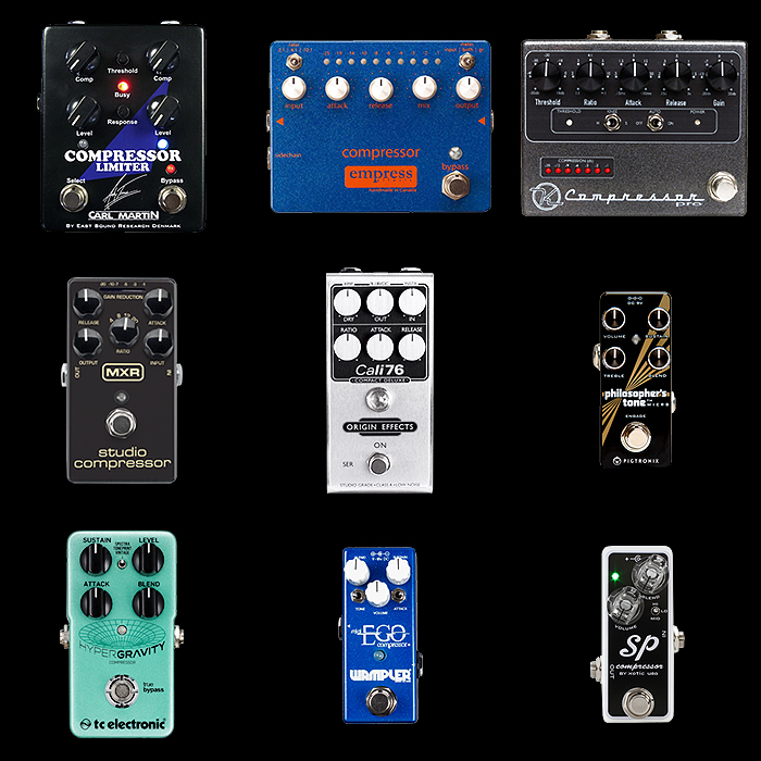 9 of the Best Compressor Pedals for Your Consideration