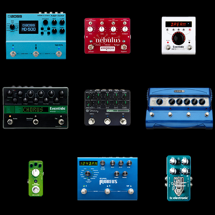 9 of the Best Modulation Workstation Pedals for Your Consideration