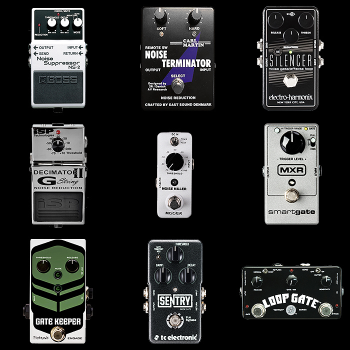 9 of the Best Guitar Noise Gates for Your Consideration