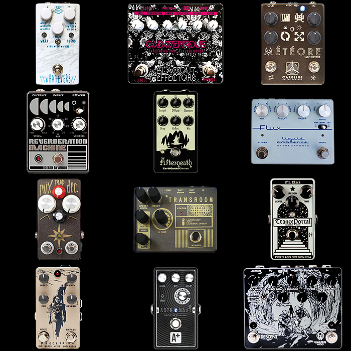 12 of the Best Spacey Reverb Pedals for Your Consideration