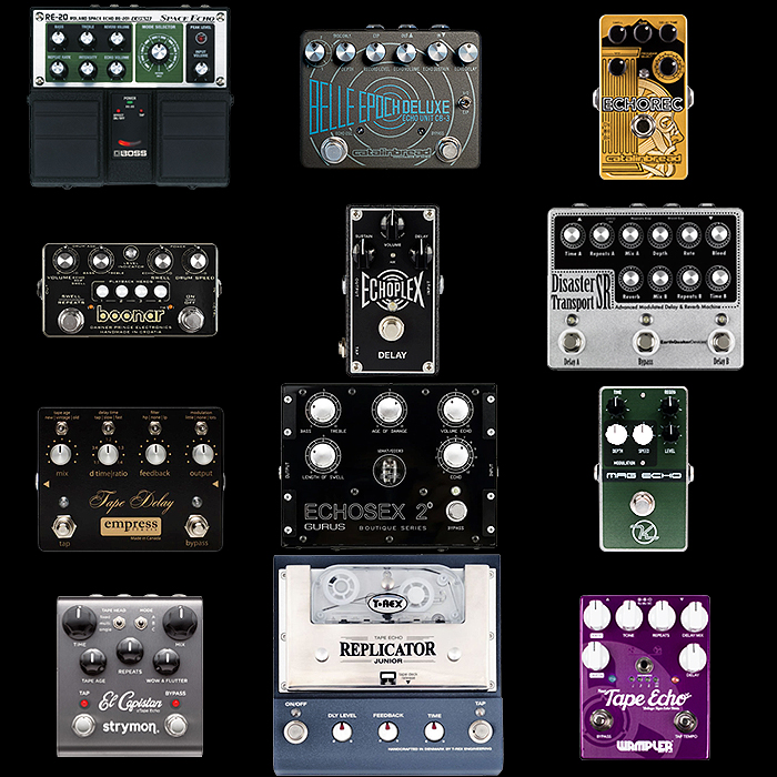 12 of the Best Tape Delay Pedals for your Consideration
