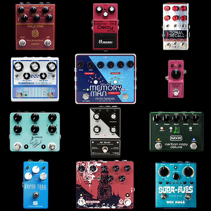 12 of the Best Analogue Delay Pedals for Your Consideration