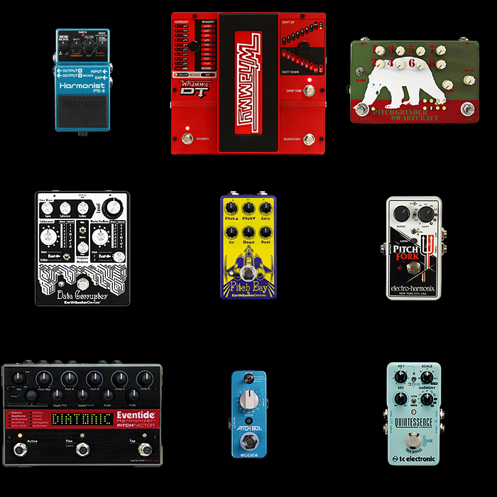 9 of the Best Pitch-Shifter and Harmonizer Pedals for Your Consideration