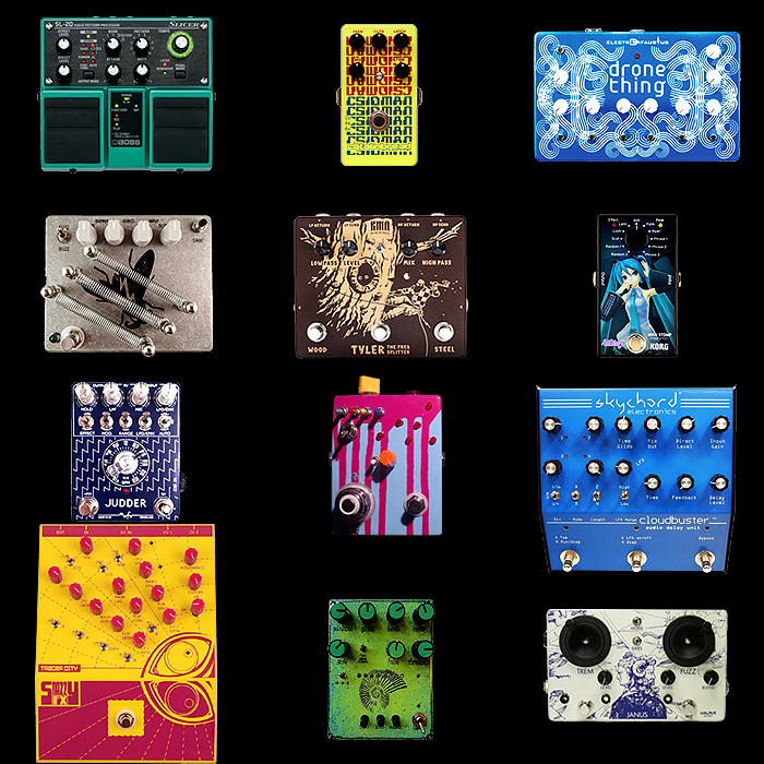12 Unique and Unusual Guitar Effects Pedals for Your Consideration