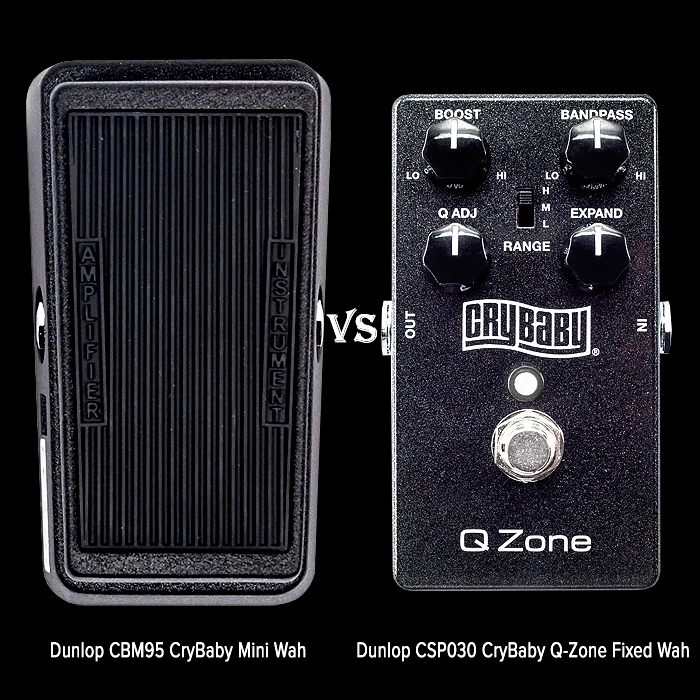 Guitar Wah Pedal vs Fixed Wah