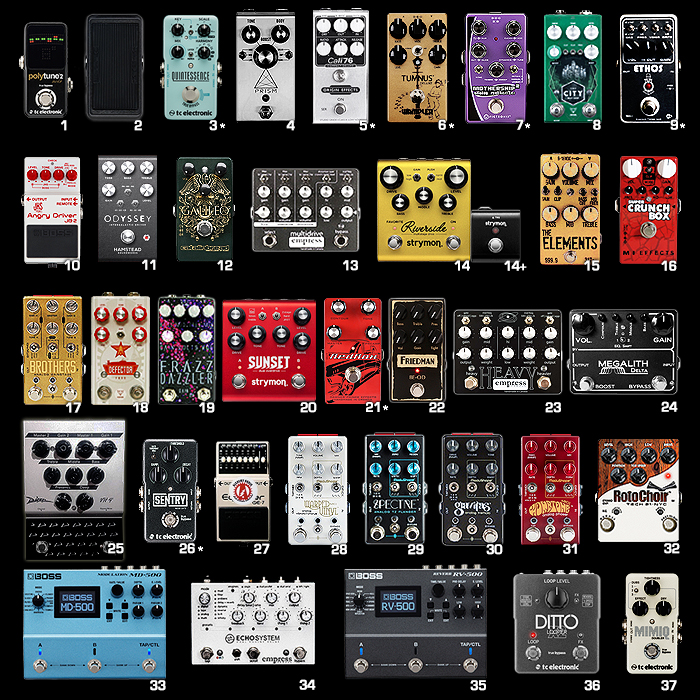 2018 Guitar Pedal Goals and Wishlists