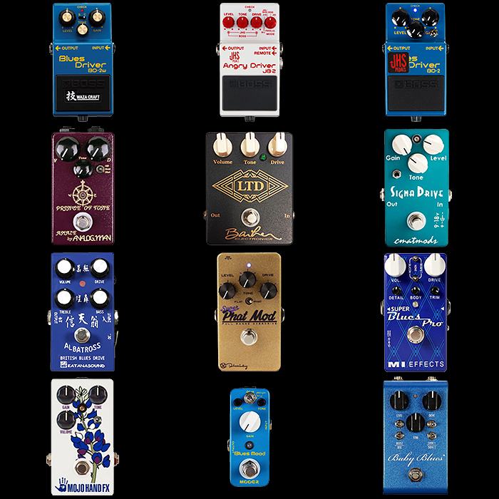 12 of the Best Blues Driver Style Pedals