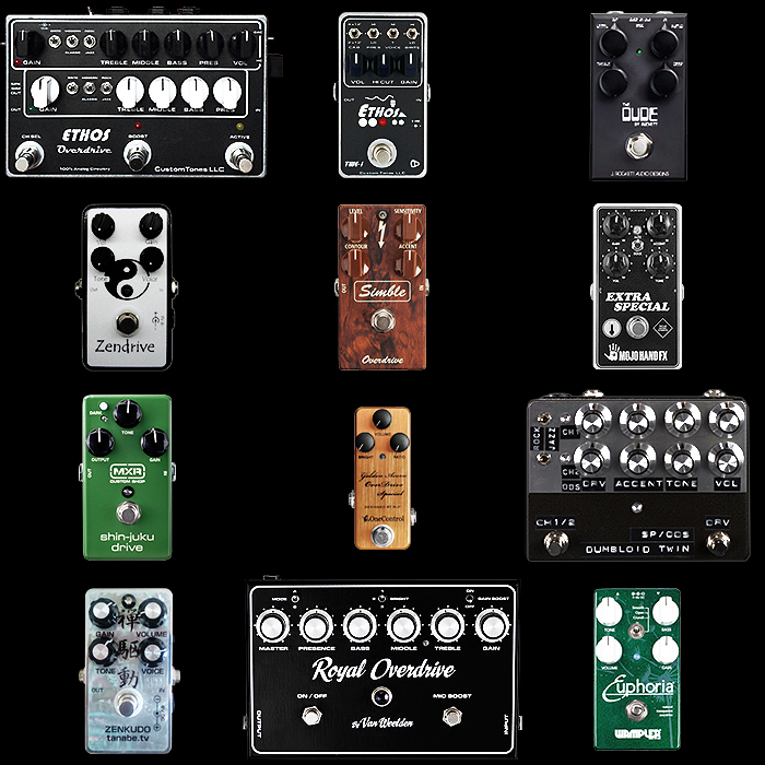 Guitar Pedal X - GPX Blog - 12 of the Best Dumble Style Pedals on