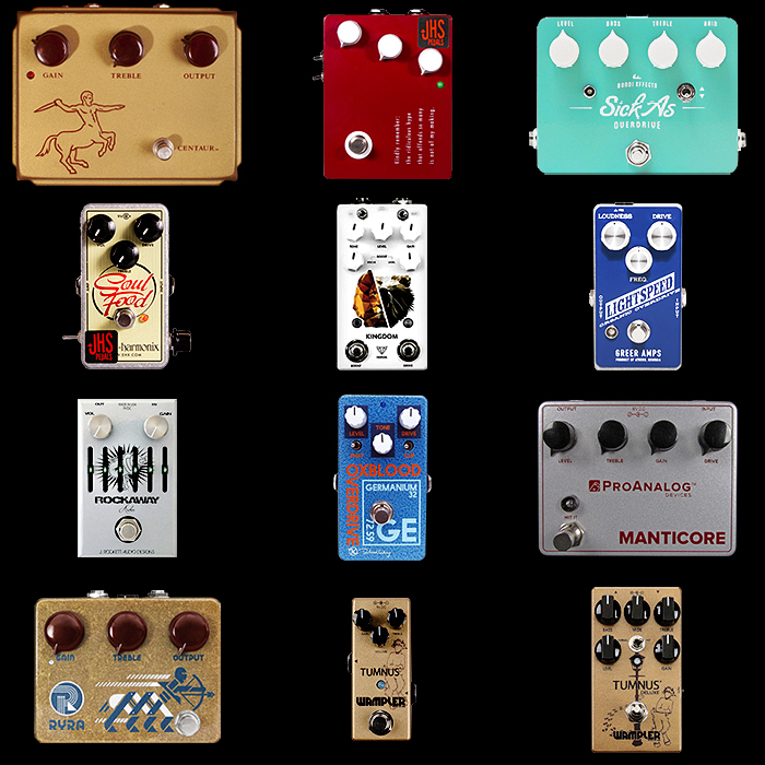 12 of the Best Klon Style Pedals