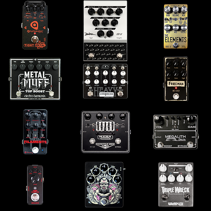 12 of the Best High Gain and Metal Pedals