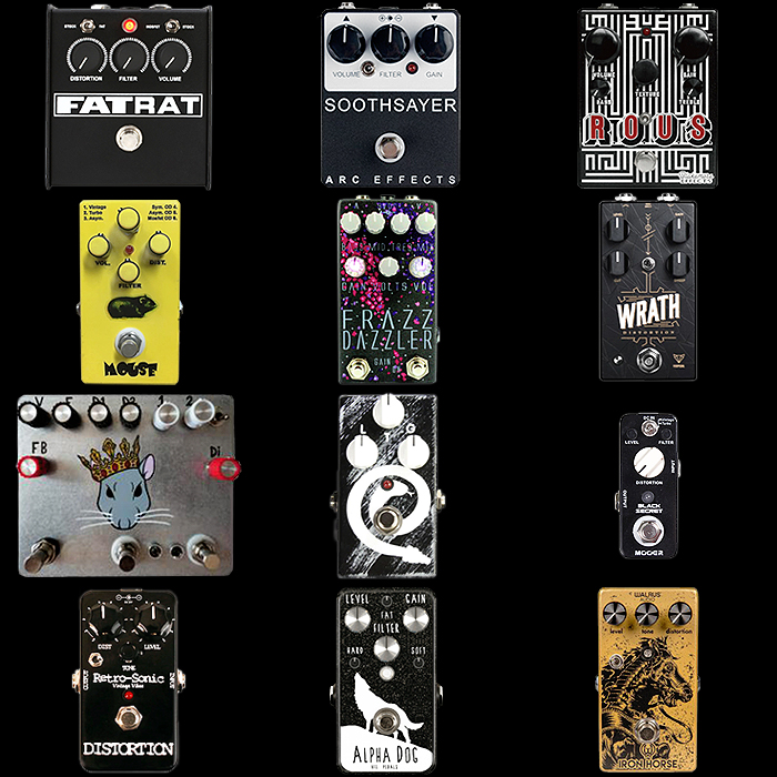 12 of the Best Rat Style Fuzz Pedals