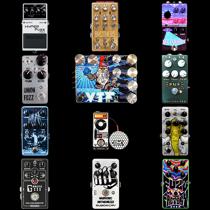 12 of the Best Unique or Unusual Fuzz Pedals