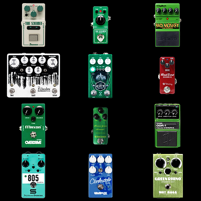 12 of the Best Tube Screamer Style Pedals