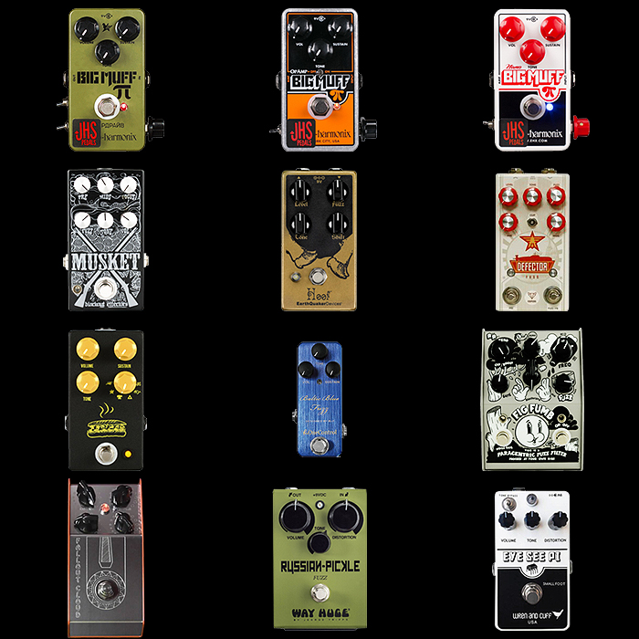 12 of the Best Big Muff Style Fuzz Pedals
