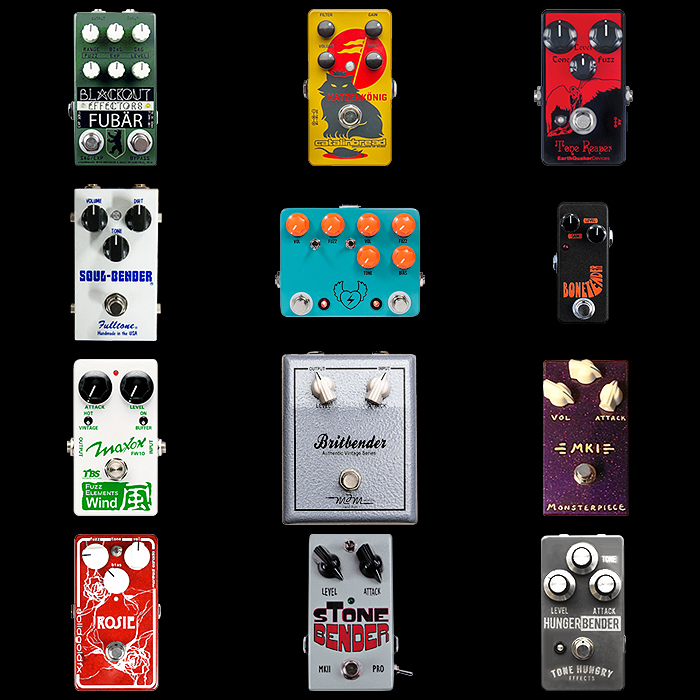 12 of the Best Tone Bender Style Fuzz Pedals