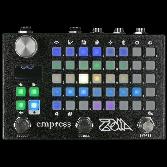 Empress Effects strengthens its Innovation Credentials with the revolutionary new Zoia Multi-Effects-Sequencing Pedal