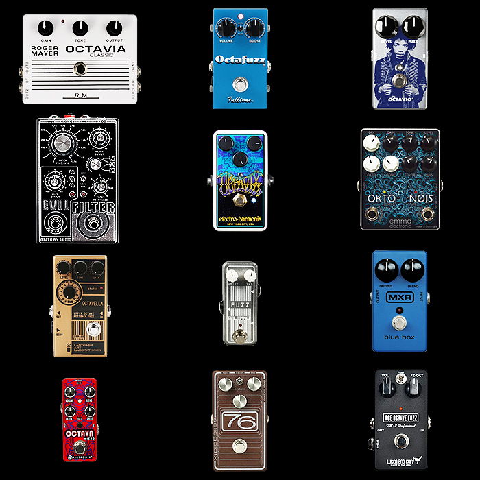 12 of the Best Octave Fuzz Pedals