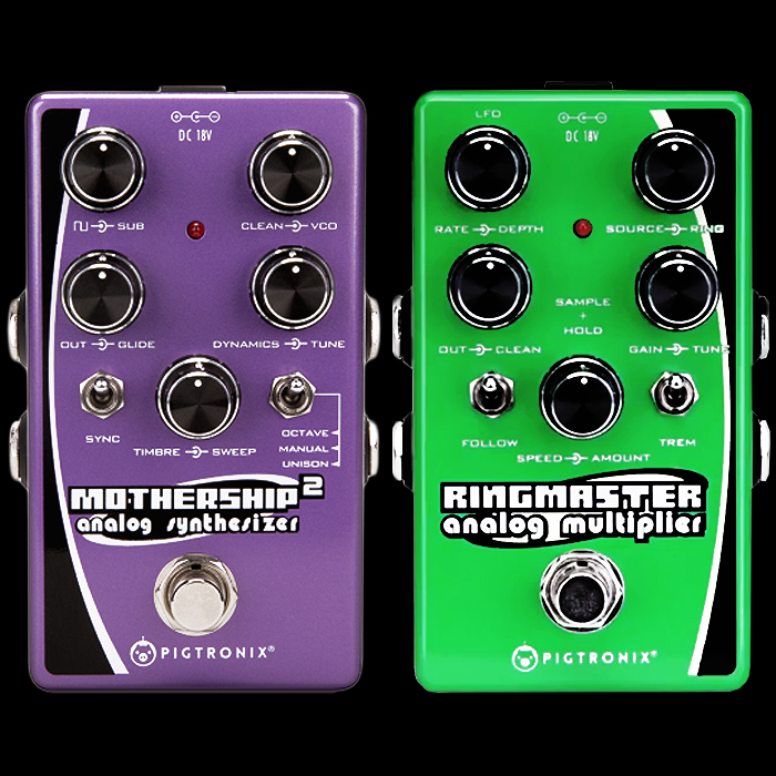 Pigtronix doubles down on Compact Analog Guitar Synth Pedals with its new Ringmaster Analog Multiplier