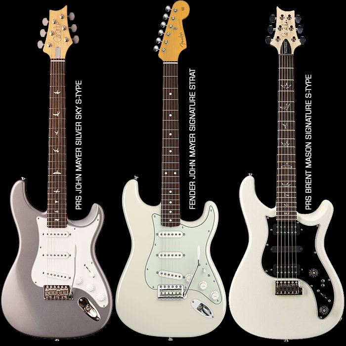 Paul Reed Smith spends 2.5 years building John Mayer a PRS Strat Replica - the JM635 Silver Sky
