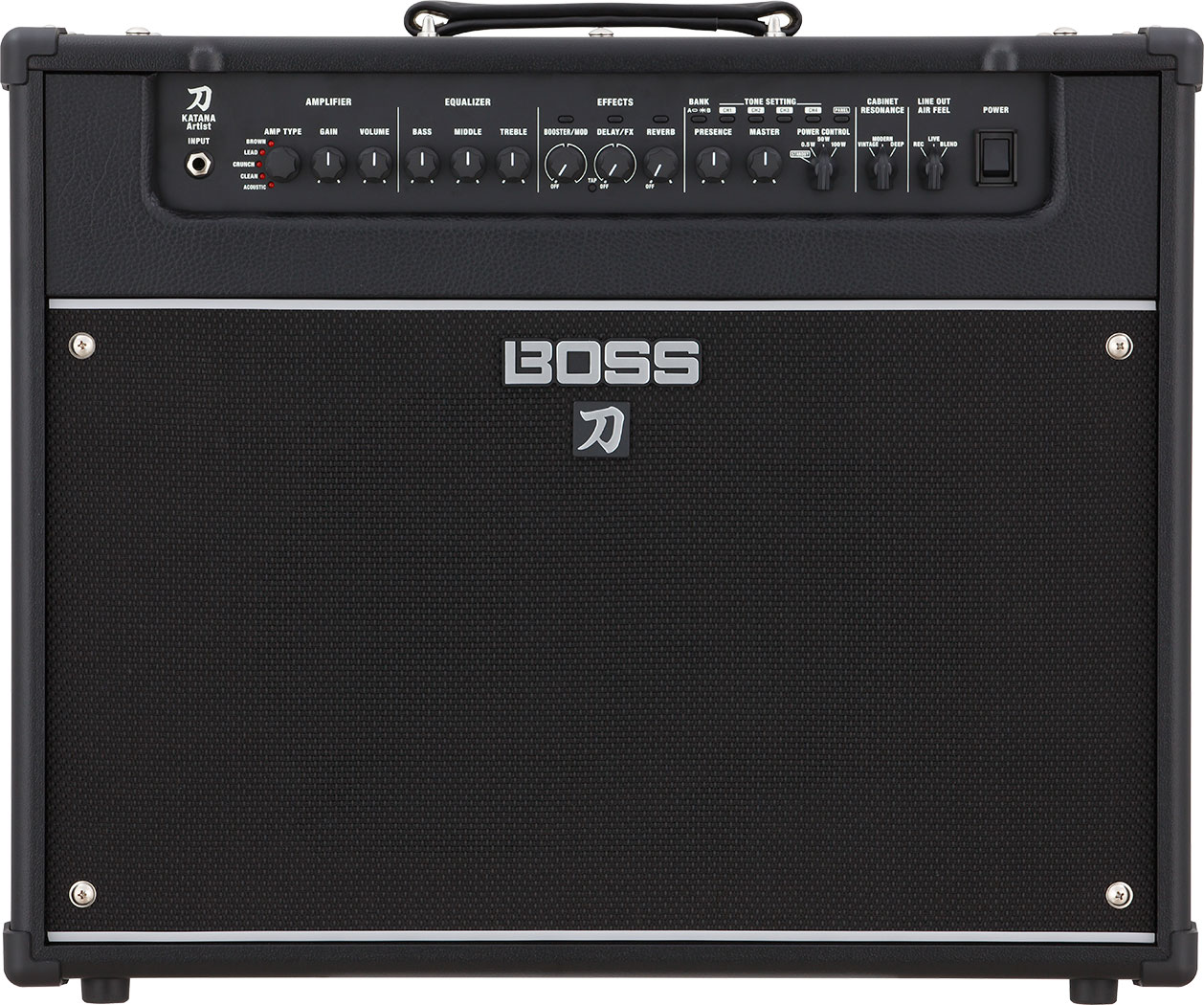 The Boss Katana Artist Amp which the Ideal Amp is based on / evolved from