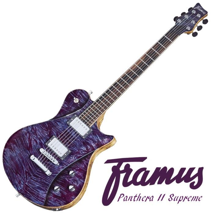 Framus Panthera II Supreme Special Purple High Polish Top