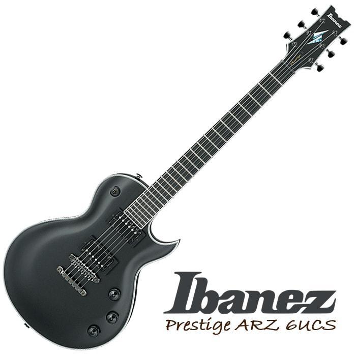 Ibanez 2017 Prestige Uppercut ARZ6UCS-BKF