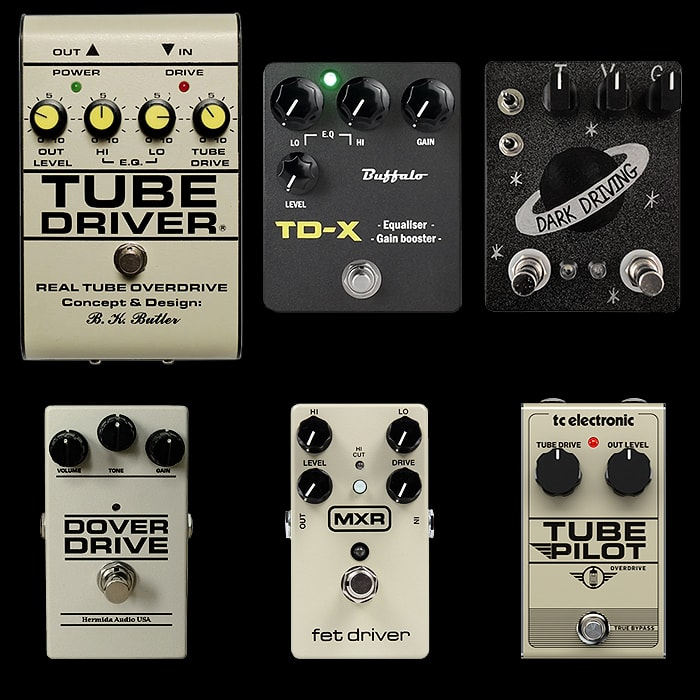 6 of the Best Butler Tube Driver Style Pedals