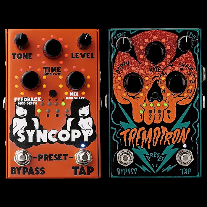 New Stone Deaf Syncopy Modulated Analogue Delay in stock at the end of this month
