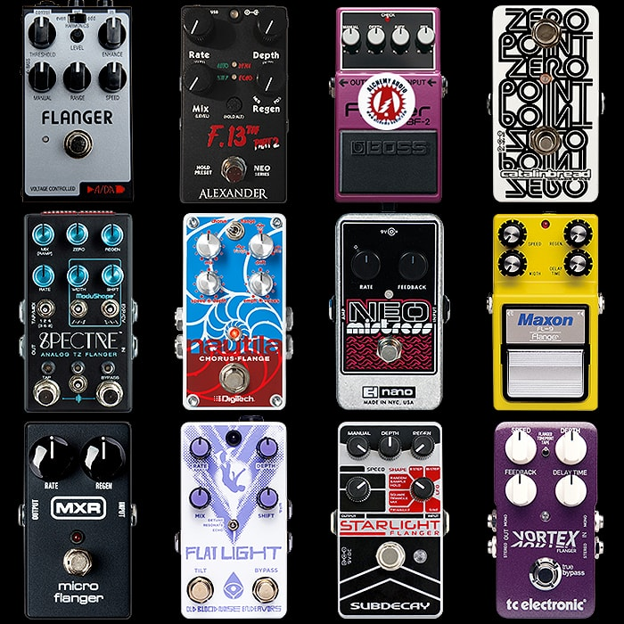 12 of the Best Compact Flanger Pedals for Your Consideration
