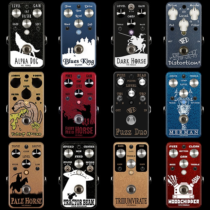 Classic VFE Pedals are Available once more for a Short While including most of my personal favourites