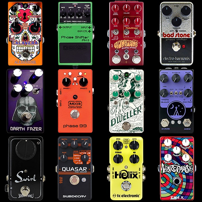 12 of the Best Compact Phaser Pedals for Your Consideration