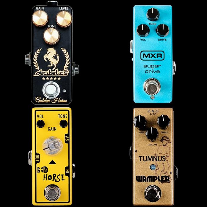 4 of the Best Mini Klone Pedals
