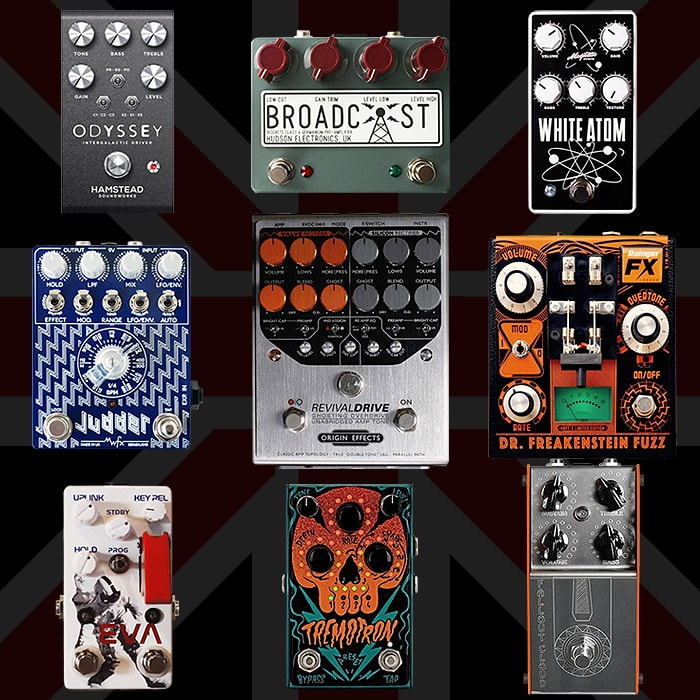 Best of British Guitar Pedals and Pedal Builders
