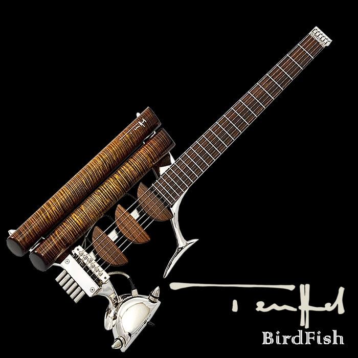 Teuffel Guitars Nickel BirdFish - $18,300 (Teuffel.com)