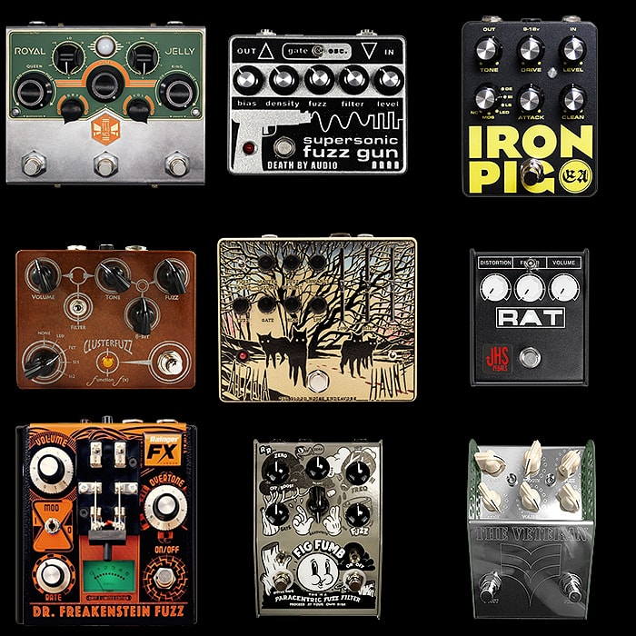 9 of the Best Larger Enclosure Fuzz Pedals Pt I
