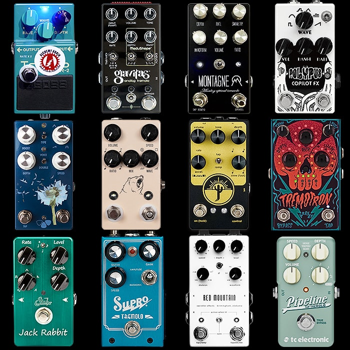 12 of the Best Compact Tremolo Pedals - Updated