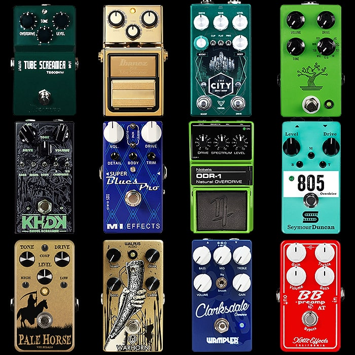 12 of the Best Compact Tube Screamer-style Pedals