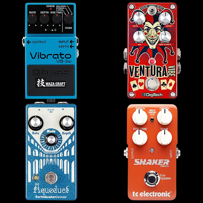4 Dedicated Compact Vibrato Pedals for Your Consideration