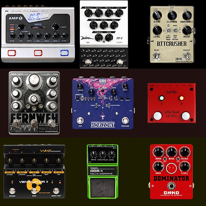 Best of German Guitar Pedals and Pedal Builders