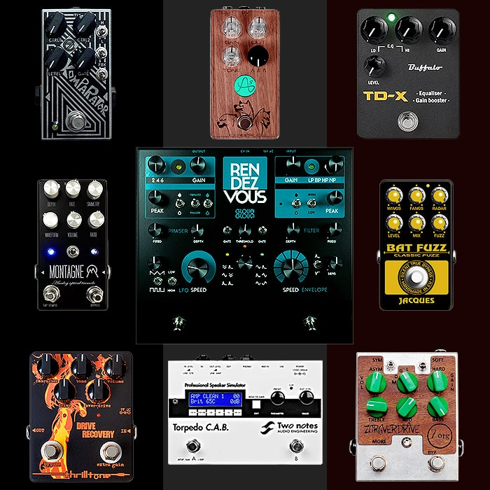 Best of French Guitar Pedals and Pedal Builders