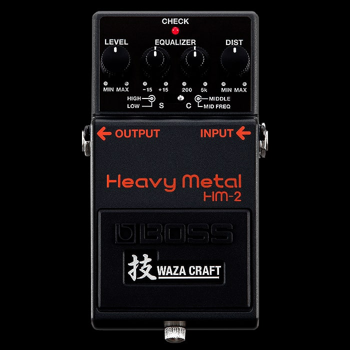 Guitar Pedal X - GPX Blog - Boss HM-2 Heavy Metal Pedal ...